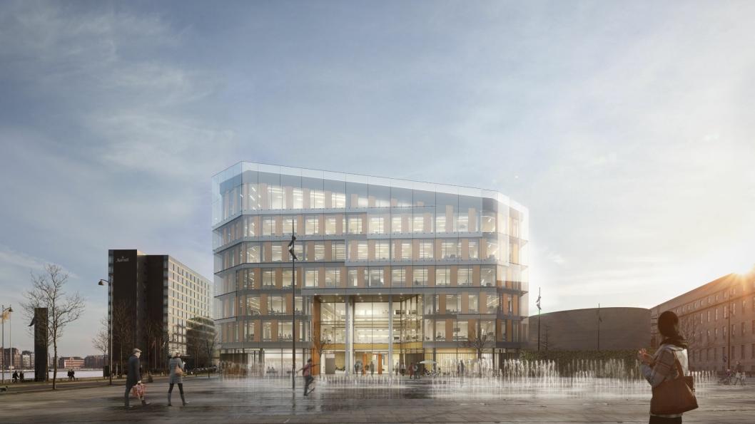 HOTELLGIGANT: Scandic Spectrum i København blir hotellkjedens største hotell når det åpner i 2021.