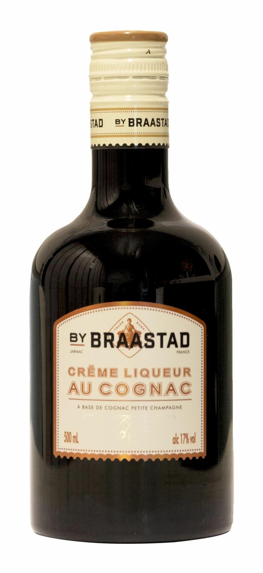 UTFORDRER: Braastad Crème Liqueur er ny i kremlikør-klassen.