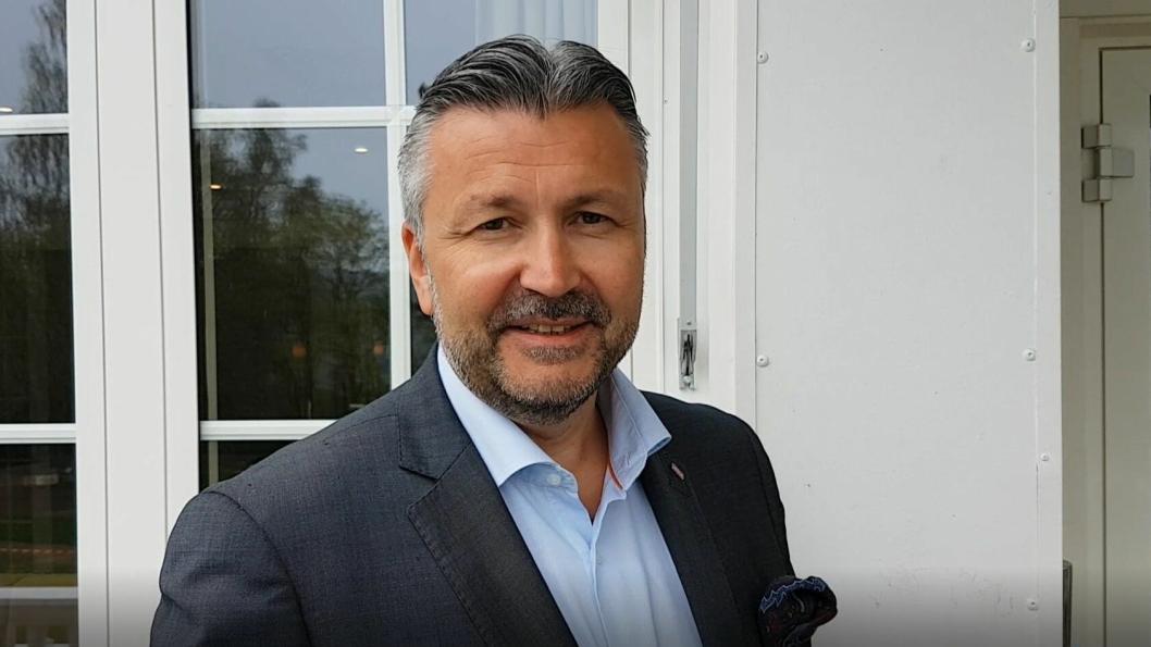 """STOLT SJEF: Svein Arild Steen Mevold er første gjest i spalten """"Fem kjappe""""."""