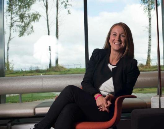 STOLT: Jannica Landmark-Rosén, direktør på Clarion Hotel & Congress Oslo Airport.