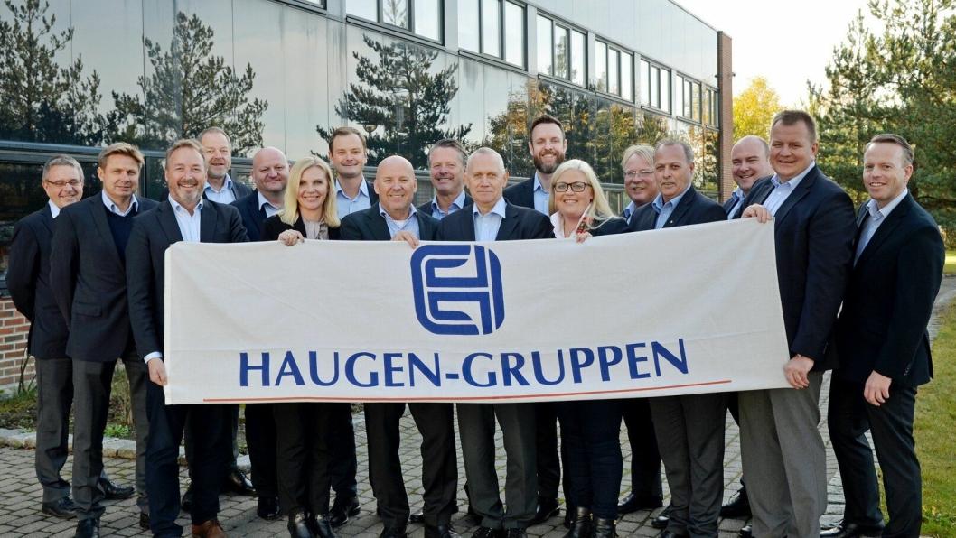 KOMPETANSE: Haugen-Gruppens folk er høyt kompetene på sine felt.