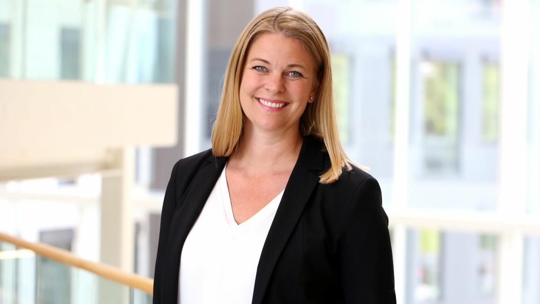 - Vi har hele tiden sterkt fokus på bærekraftig drift, og svanemerkingen er et bevis på at vi er på rett vei, sier administrerende direktør Kathinka Friis-Møller. Foto: Britt K. Andersen.