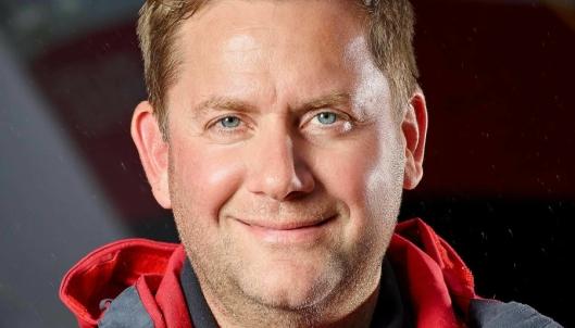 FORNØYD: Daniel Skjeldam, Konsernsjef i Hurtigruten.