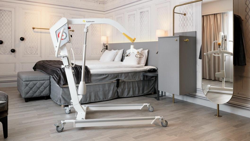 MER HJELP: Scandic tar tilgjengelighet på alvor og har nå doblet antallet mobile lifter på sine hoteller.