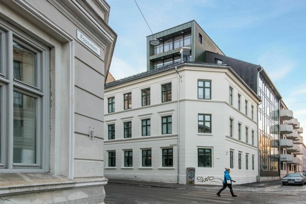 NYTT: Leilighetshotellet i Helgesens gate på Grünerløkka er Frogner House sitt første prosjekt på østkanten av Oslo.