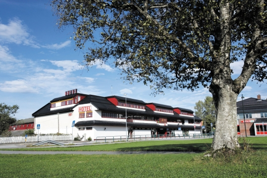ADELIG: Thon Hotel Baronen i Spjelkavik utenfor Ålesund.