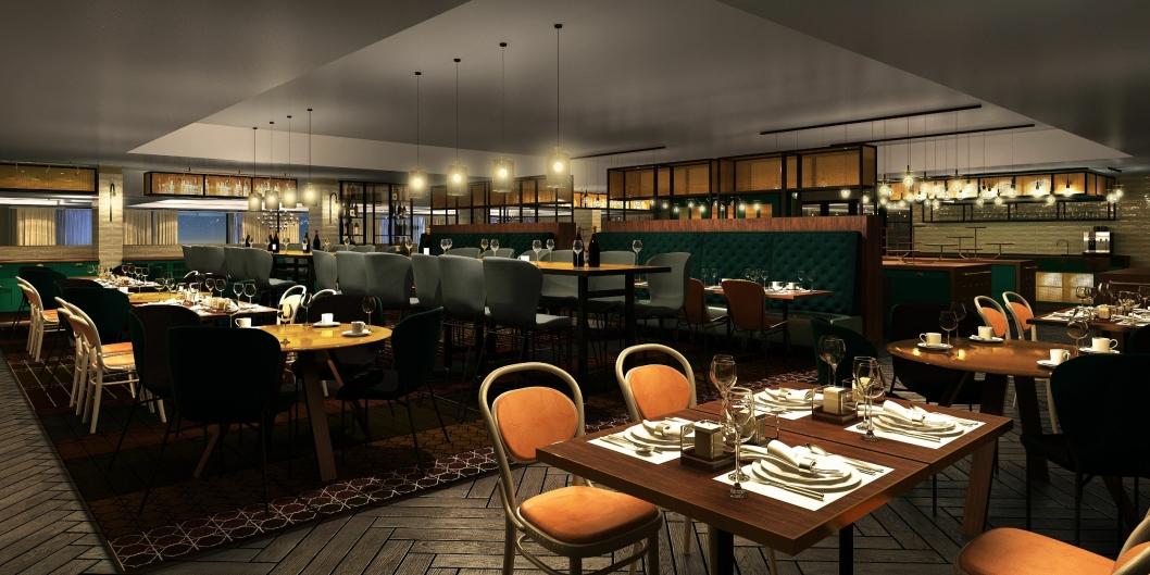 FROKOSTBAUTA: Hell-restauranten er allerede kjent for god frokost, men etter oppussingen skal det bli enda bedre. Og sikkert litt lysere.
