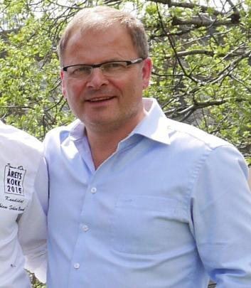 FORNØYD: Arne Sørvig er fornøyd med den nye samarbeidspartneren. Arkivfoto: Eskil Bjørshol.