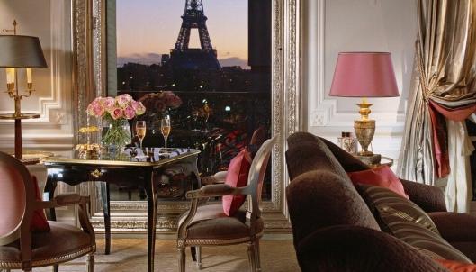 2. plass: Hotel Plaza Athénée, Paris – en utsikt du sent vil glemme.