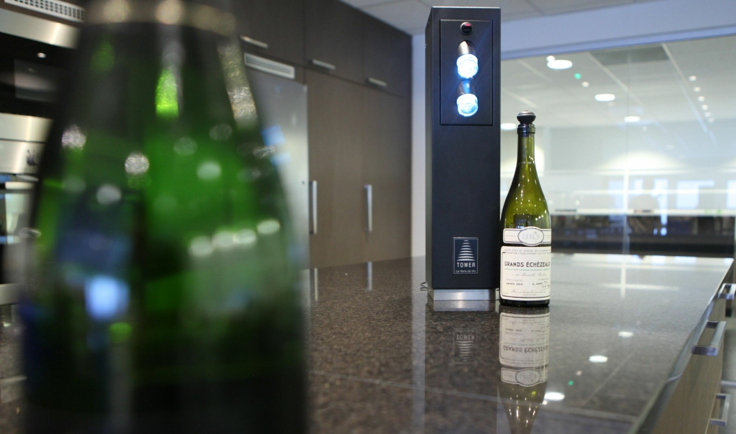 HOLDBART: Le Verre de Vin-systemet er stille og varer ifølge Tveit i minst ti år.