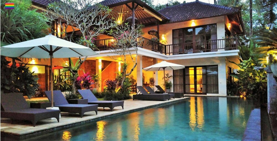 6. plass: Villa Saraswati, Bali – toppen av luksus.