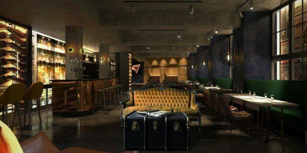 KLUBB: Gustav, klubben inspirert av New York jazz scene.