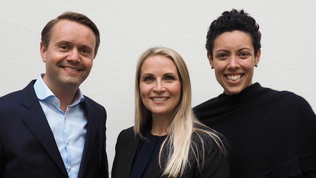 NYE LEDERE: Gjøran Sæther (t.v), har hentet inn Renate Lindmark og Naja Boone til sitt kommersielle team.