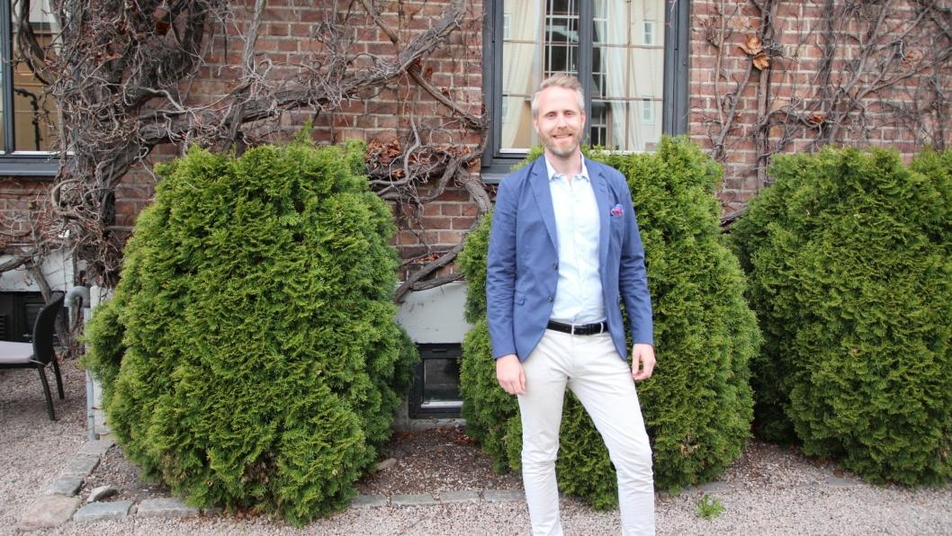 NY SJEF: Fredrik Eklund blir ny sjef for Quality Hotels.
