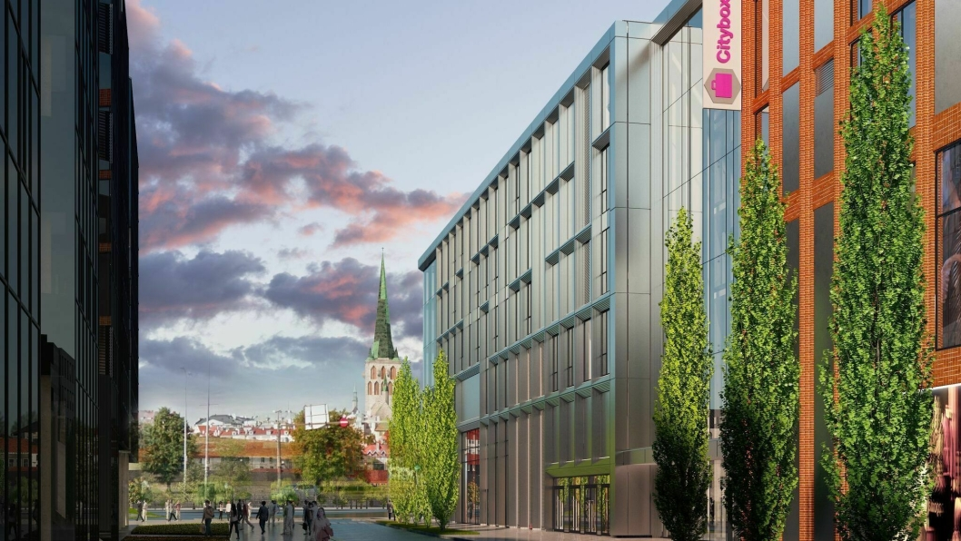 TIL UTLANDET: Citybox etablerer seg i Tallinn i Estland.
