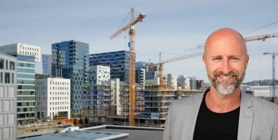 BLIR SJEF HER: Robert Holan blir direktør på Clarion Hotel Oslo i Bjørvika.