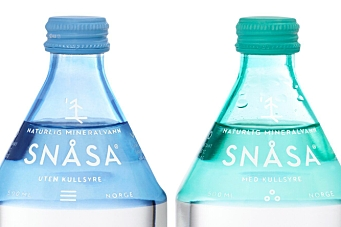 Prisdryss for vann fra Snåsa