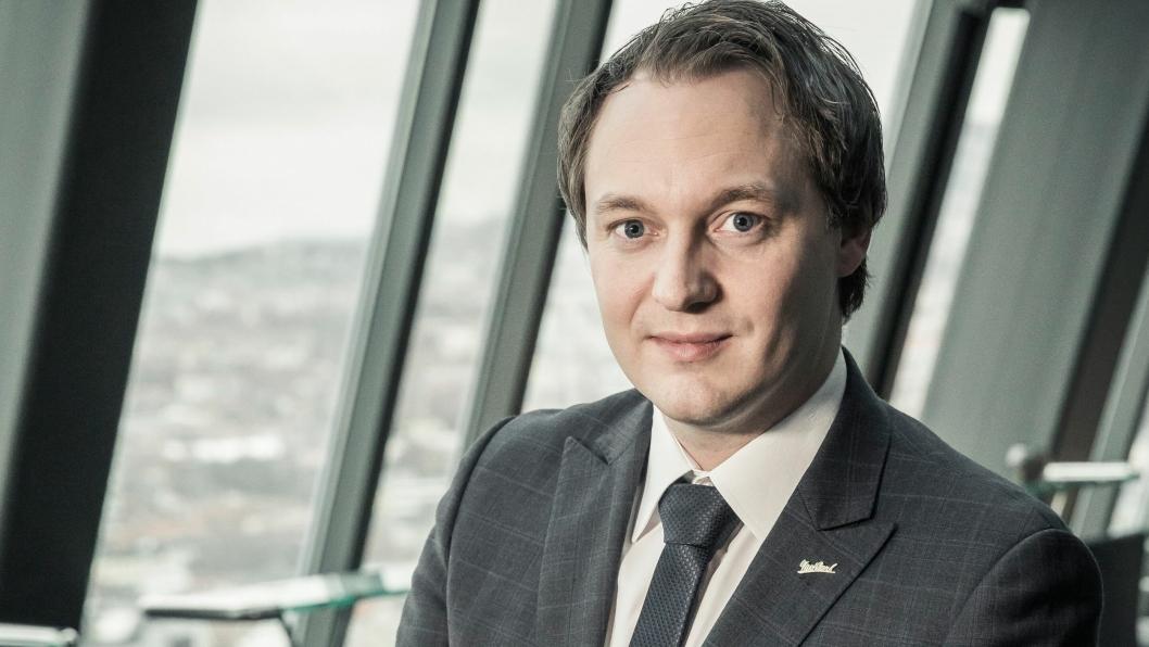 NY SJEF: Fran Ove Wennevik er nye sjef på Radisson Blu Park Hotel på Fornebu.