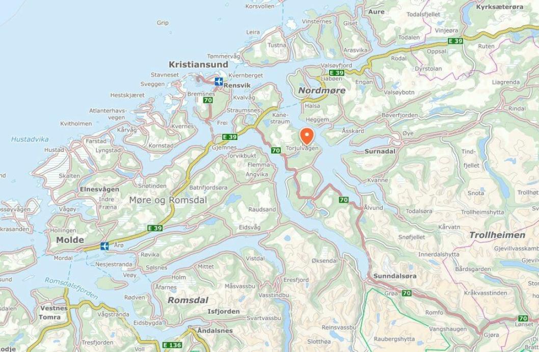PÅ KARTET: Tingvollost har på alle mulige måter satt den lille nordmørs-bygda Tingvoll på kartet.