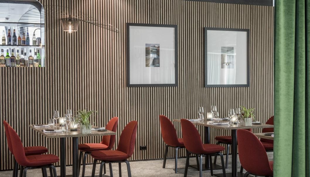 POPULÆR: 26 North Restaurant & Social Club ved Radisson Blu Airport Hotel, Oslo Gardermoen.