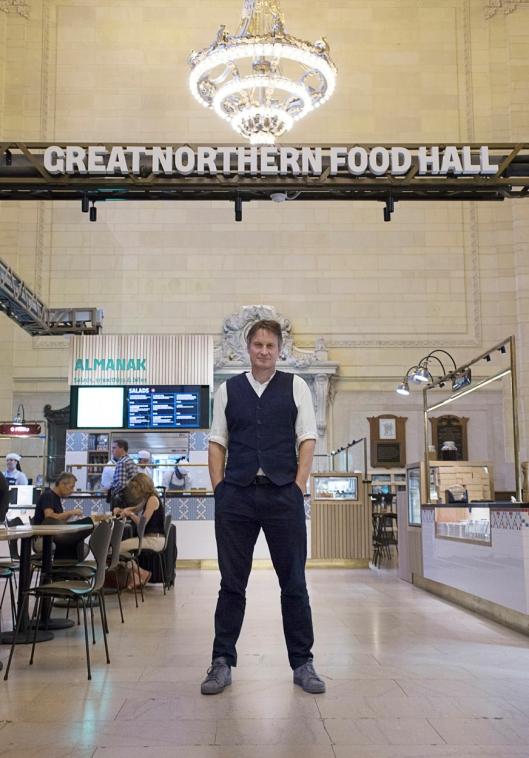 HJEM: Meyer har nylig flyttet hjem til København, etter tre år i New York, der han blant annet startet Great Northern Food Hall, restauranten Agner og nylig Brownsville Community Culinary Center i New York, som skal gi fattige unge en ny fremtid.