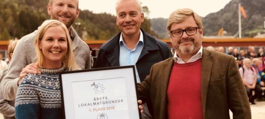 Røyland gård er Årets Lokalmatgründer