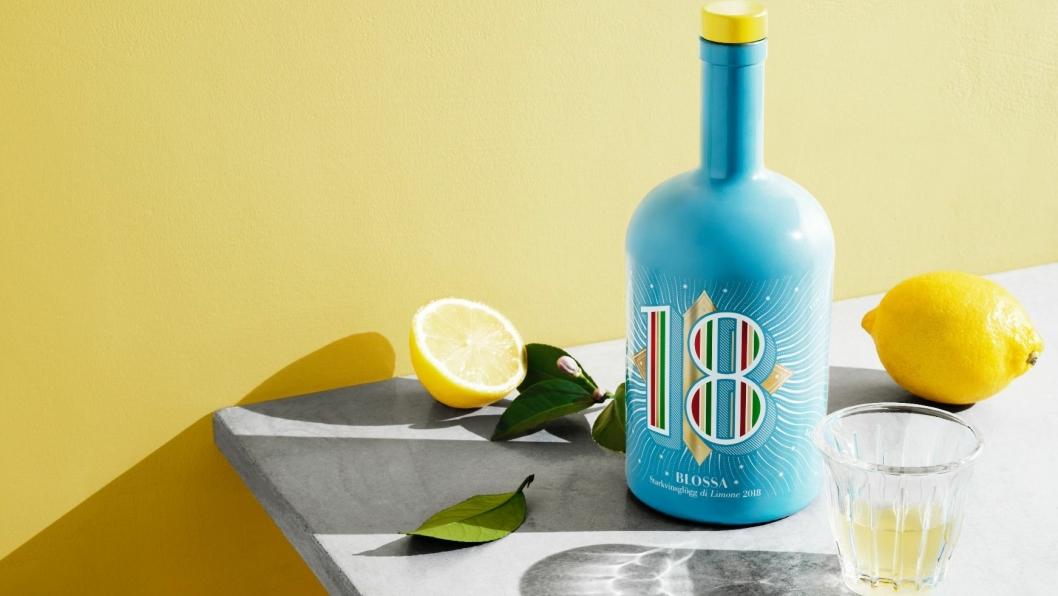 BLOSSA 18: Slik er årets flaske av Blossas velkjente årgangsglögg.