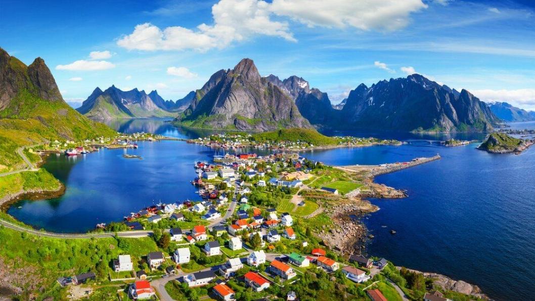 VAKKERT: Inntrykk som dette er det mange besøkende trakter etter når de besøker Nord-Norge.