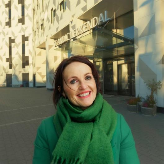 NY SJEF I MIDT: Line Vikrem-Rosmæl trer inn som distriktsdirektør for distrikt midt.