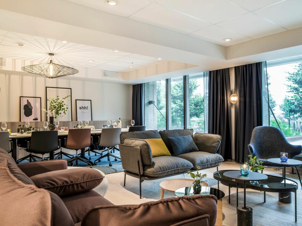 NYTT: Hotellets nye Meeting Studios har topp moderne, lyse og fleksible møterom.