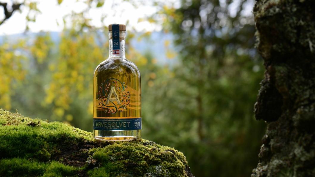 NY DRAKT: Innholdet er lagret 24 måneder på sherry-fat, mens flasken har ny design.
