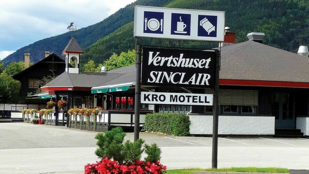SELGES: Vertshuset Sinclair i Kvam er til salgs igjen.
