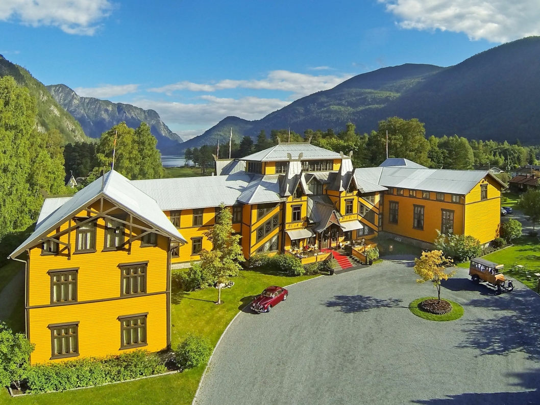 IDYLL: Dalen Hotel er et av landets mest tradisjonsrike hoteller.