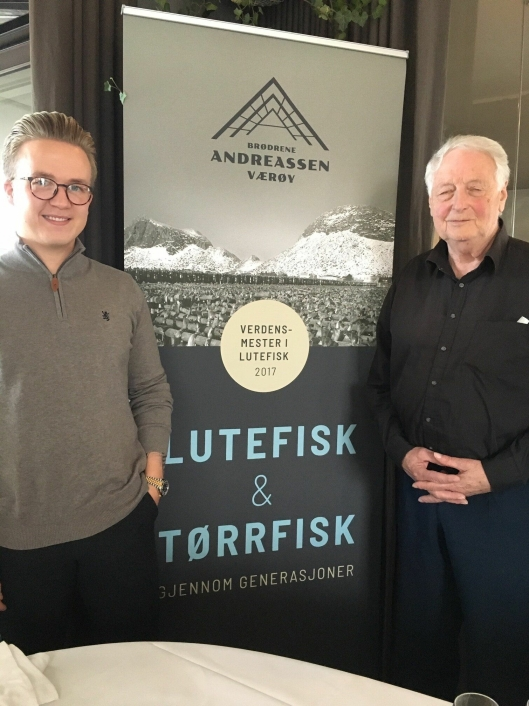 Daniel og Ole Andreassen er henholdsvis 3. og 5. generasjon i Brødrene Andreassen.
