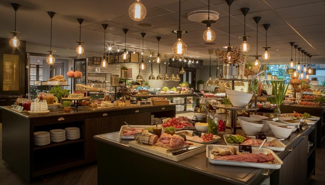 THIS IS HELL: Frokosten ved Scandic Hell har fått et løft de siste årene og blir i år hedret med en sterk tredjeplass.