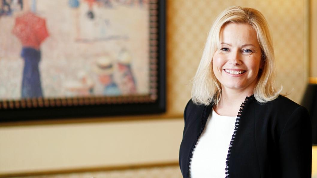 GIR SEG: Hotelldirektør Fredrikke Næss slutter som hotelldirektør ved Grand Hotel i Oslo.