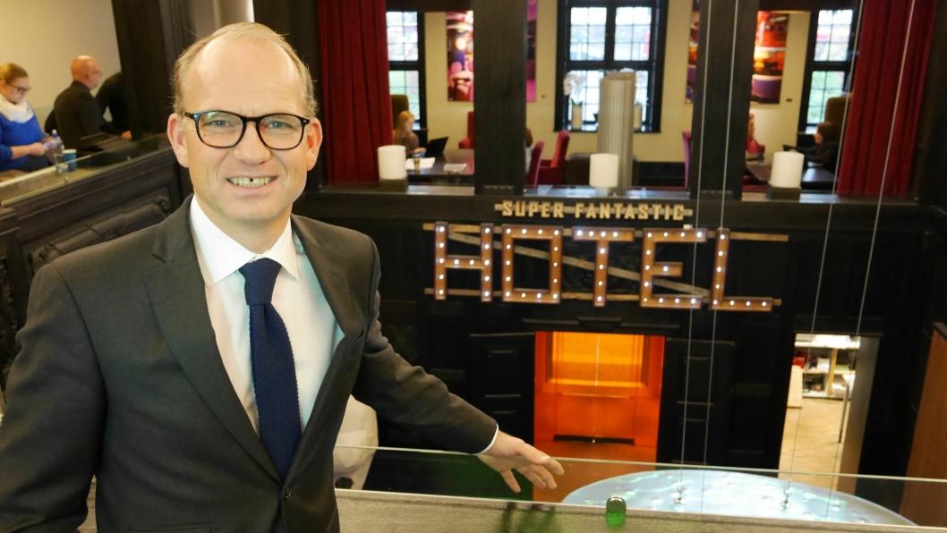 DRØMMESJEF: Torgeir Silseth og Nordic Choice Hotels er en attraktiv arbeidsgiver for økonomer.