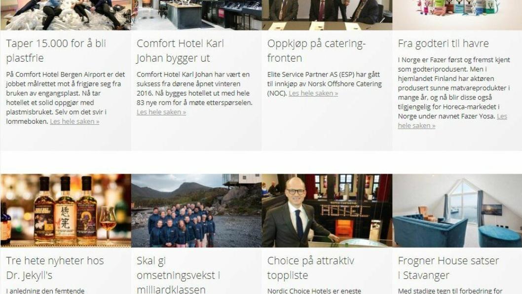 NYHETER PÅ E-POST?: Hvis du vil kan du nå få utvalgte nyheter fra hotellmagasinet.no på e-post.