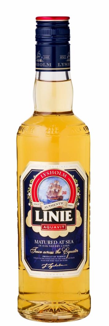 BEREIST: Lysholm Linie Aquavit er verdens mest bereiste akevitt.