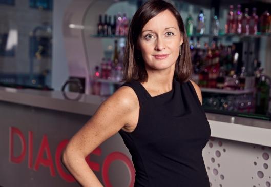 TIPSER: Camilla Evanger ansvarlig for den norske avdelingen av Diageo.