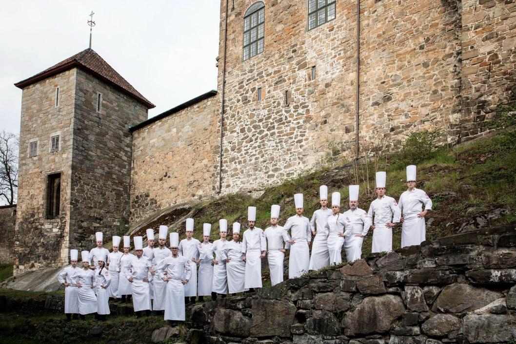 Dette er gjengen som kjemper om heder og ære i Luxemburg. Foreløpig går det helt strålende.