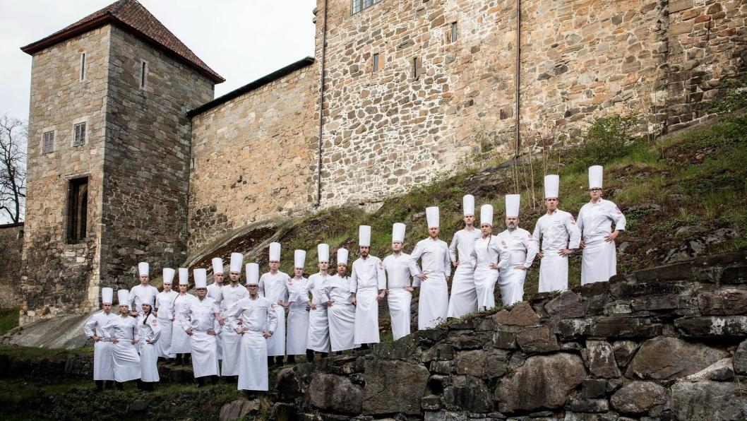 SUKSESS: Begge kokkelandslagene nyter stor suksess i årets VM.