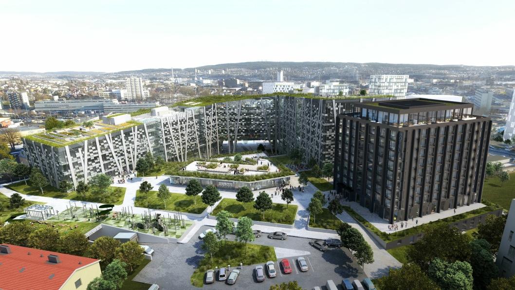 Økern Portal blir et stort tilskudd i Oslos hotellfauna når det åpner i 2021 eller 2022.