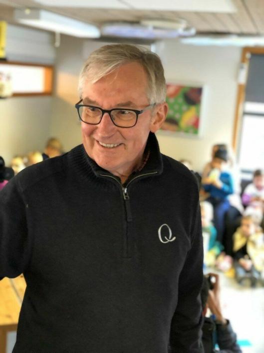Q-sjefen Bent Myrdahl ble imponert av at morgendagens forbrukere ikke tåler ordet matsvinn.