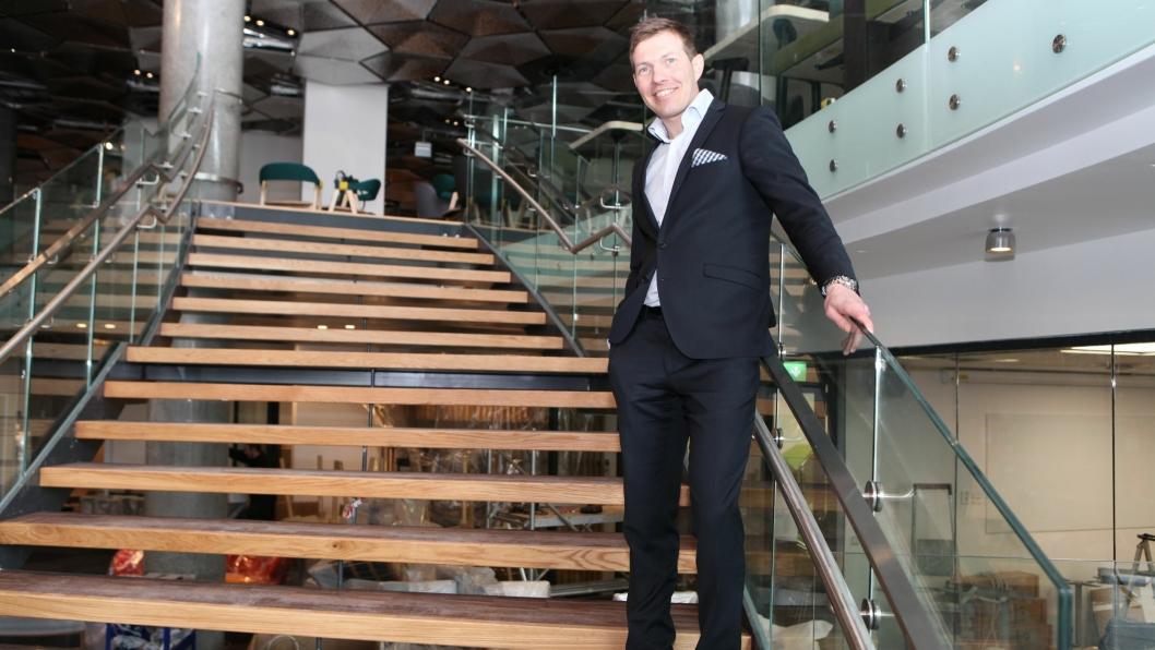 NY JOBB: Øyvind Alapnes (42) blir ny Senior Vice President for Clarion Collection Hotel i Norden.