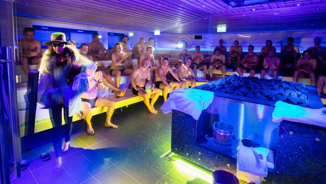 Eventbadstuen åpnet i november og har allerede blitt svært populær.