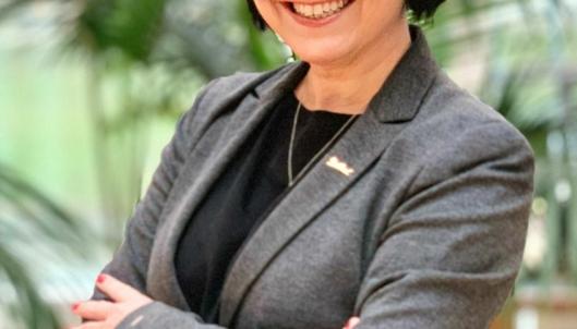 """Tone Hansen """"vender hjem"""" til Royal Garden i Trondheim hvor hun startet sin hotellkarriere som resepsjonist. Nå som direktør."""