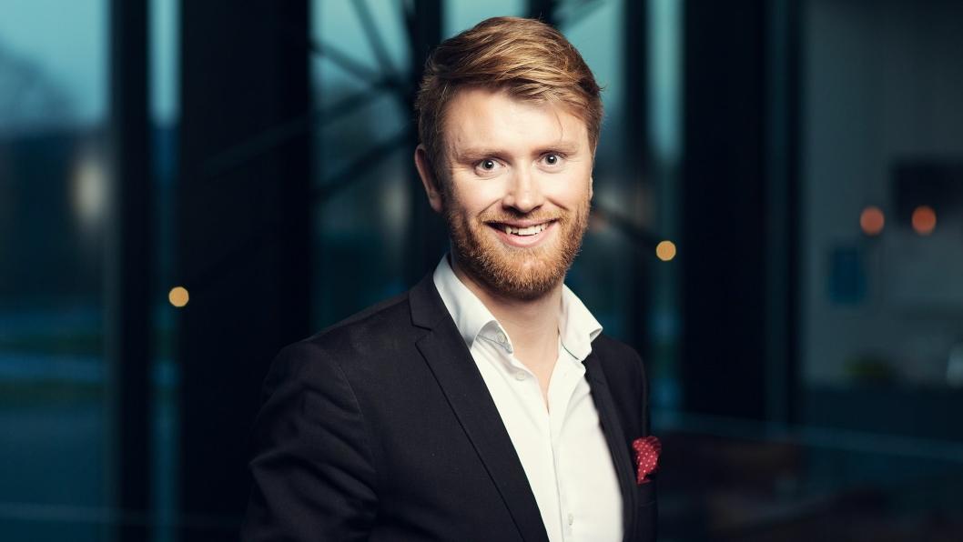 Michael Holm er hotelldirektør på Quality Hotel Residence i Sandnes.
