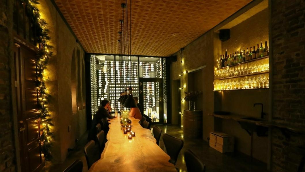 STEMNING: Vino Bar i Ålesund er en nystartet vin-satsing.