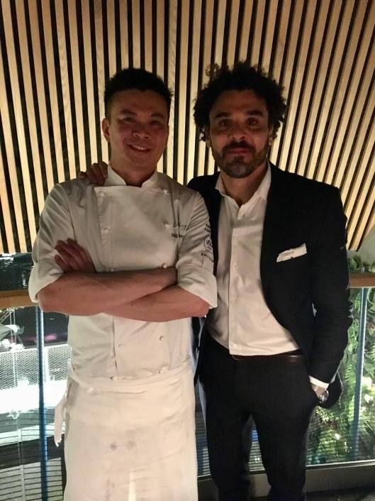 Chef Meng og daglig leder Paulo Basto.